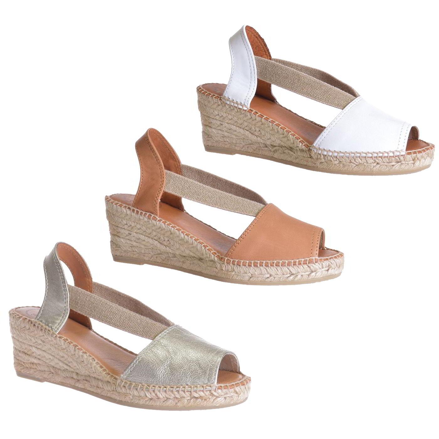 b52a586962892 Details about Toni Pons Teide Womens Ladies Platform Wedge Espadrilles  Shoes Sandals Size 4-8