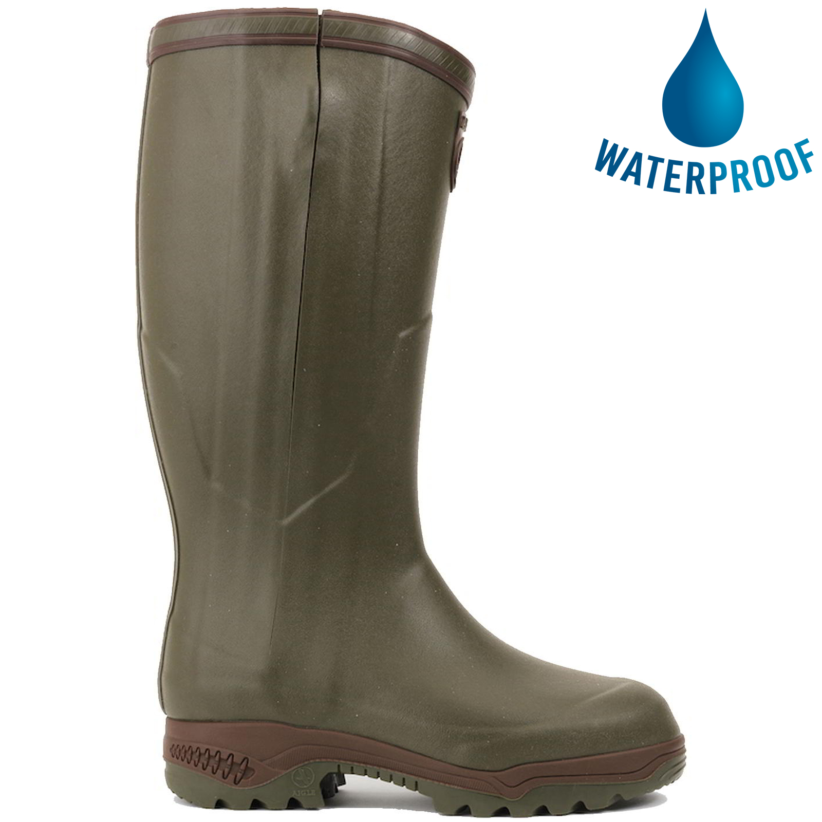 New Mens Wellies Wellington Work Boots Fur Lined Rain Shoes Long Boots Size