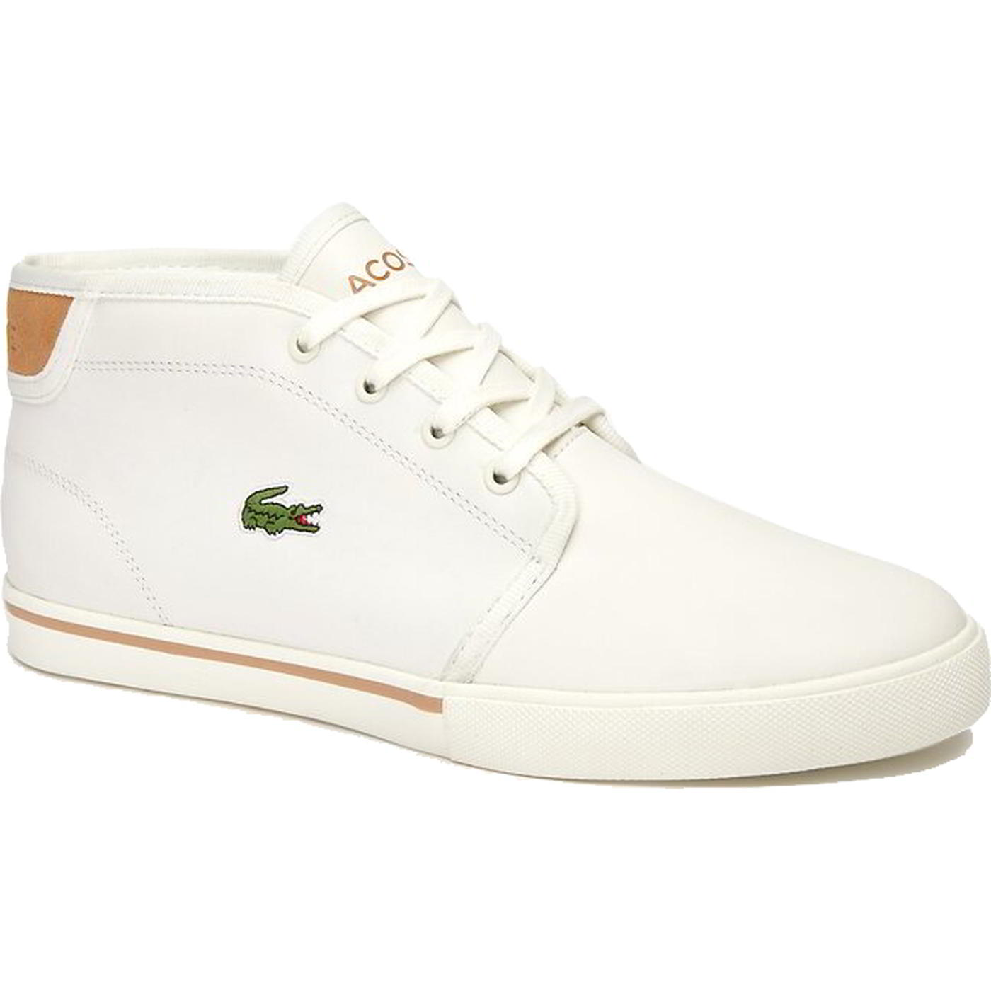 Lacoste Ampthill Mens White Leather