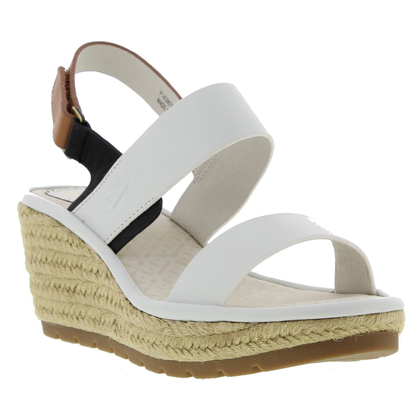 Fly London Hook Womens Ladies Brown Green White Red Wedge Sandals Size UK 4-8