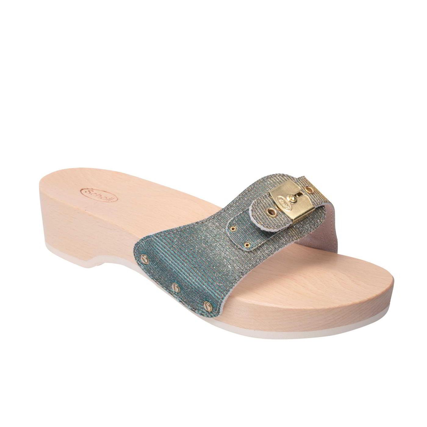 Scholl Pescura Heel Womens Ladies Slip