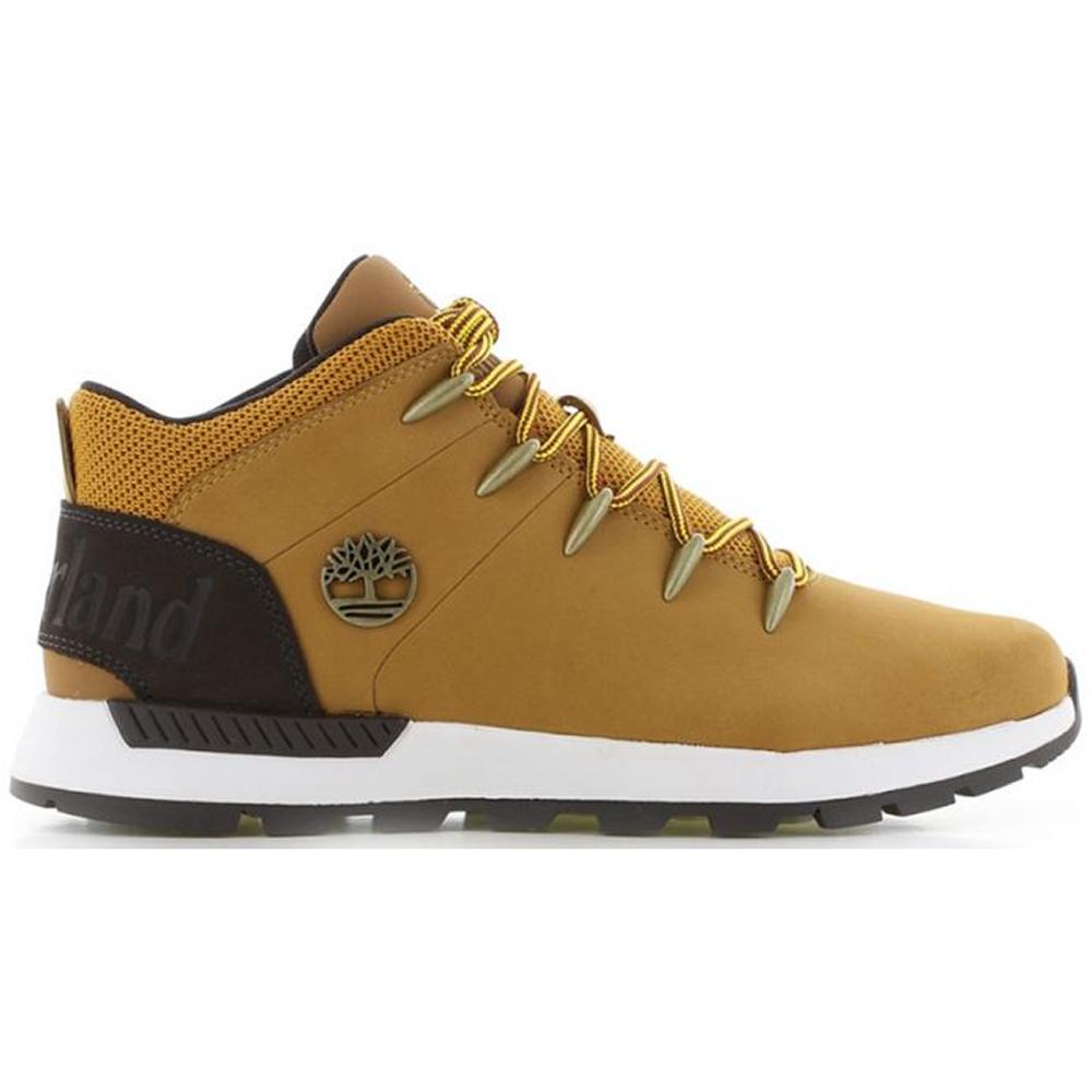 Inocencia Retorcido cascada  Timberland Euro Sprint Trekker Mens Yellow Lace Up Chukka Ankle Boot Size 8-11  | eBay