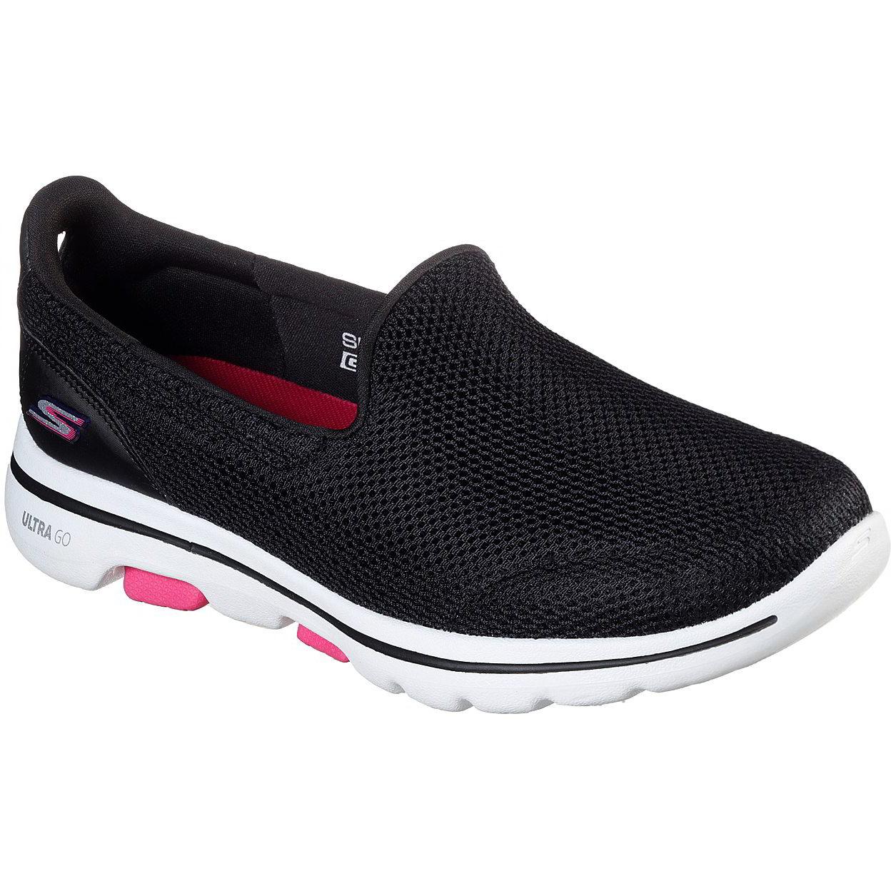 Skechers Go Walk 5 Womens Ladies Black