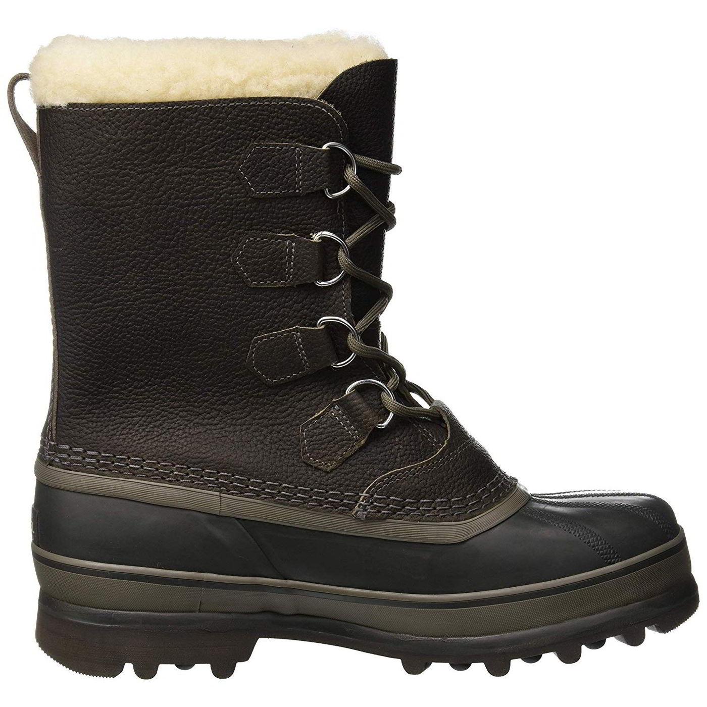 Sorel Caribou Wool Mens Waterproof Warm Winter Snow Boots Size 7-12
