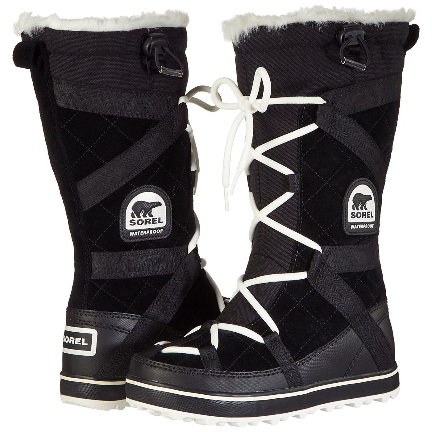 Details about Sorel Womens White Winter Snow Boots Size 6