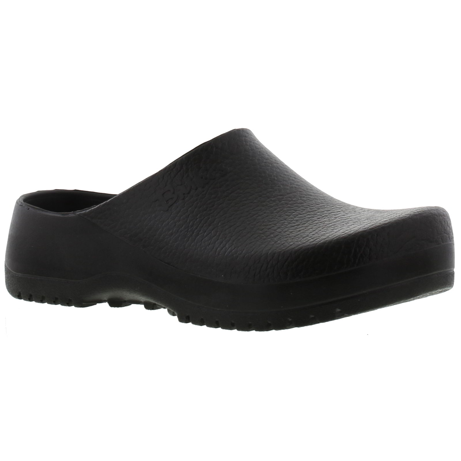 11e8519308fa0a Details zu Birkenstock Super Birki Vegan Black Clogs Sandals Shoes Size UK  4.5-13
