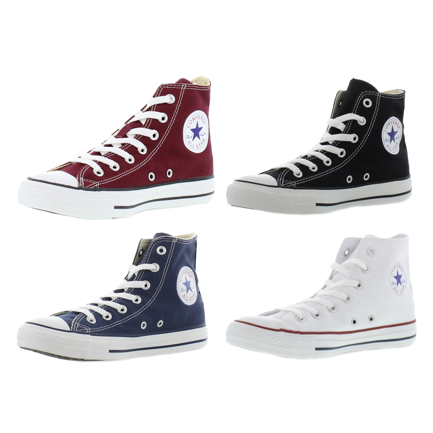 7f8481b67a14 Details about Converse All Star Hi Mens Womens Ladies Classic Hi Top Boots  Trainers Size 4-13