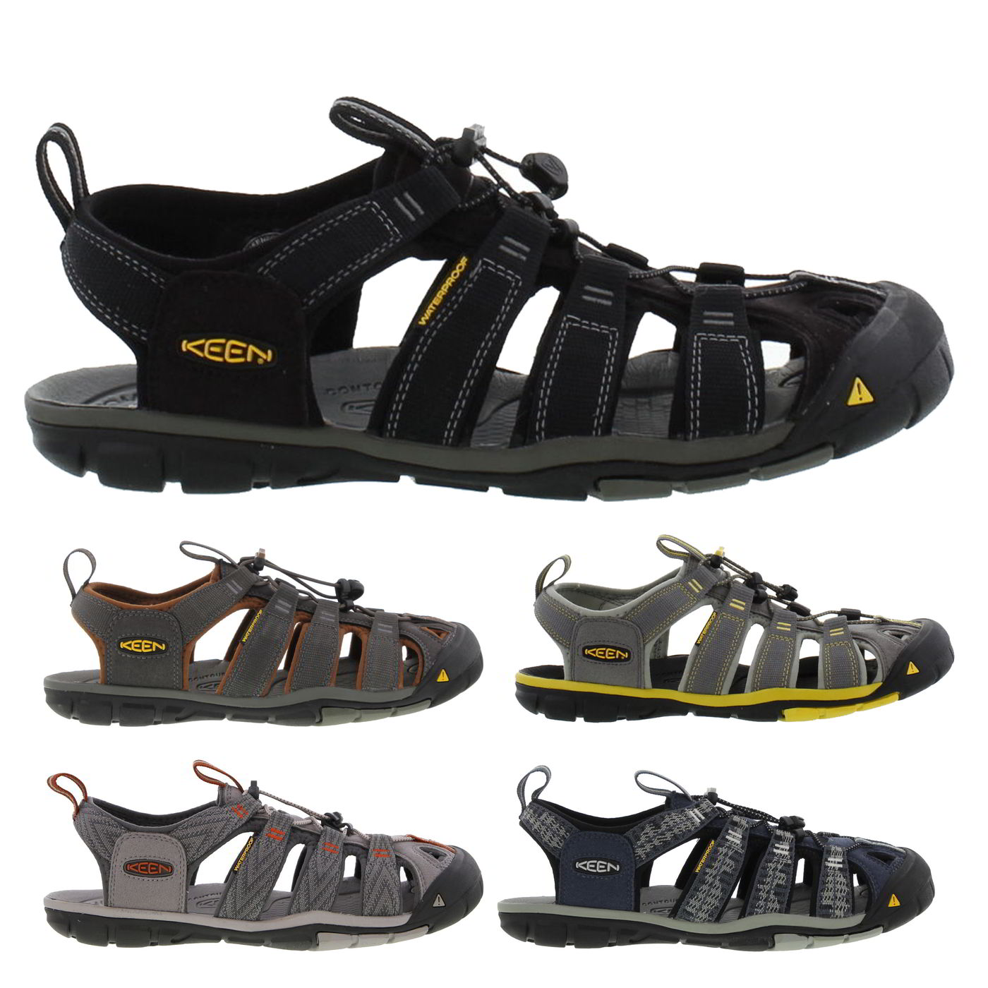 4fea8fd1b51 Details about Keen Clearwater CNX Mens Adjustable Walking Water Sandals  Size UK 7-14