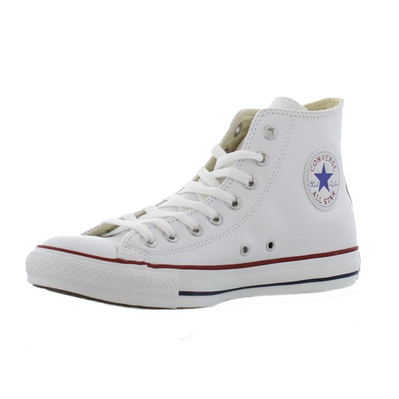 ed42f8b36c660 Detalles de Converse All Star Altas Cuero Hombre Mujer de las Señoras  Zapatillas Zapatos Talla 3-13- ver título original