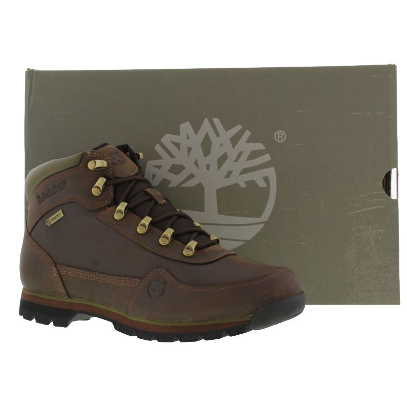 timberland men's euro hiker gore-tex boots black