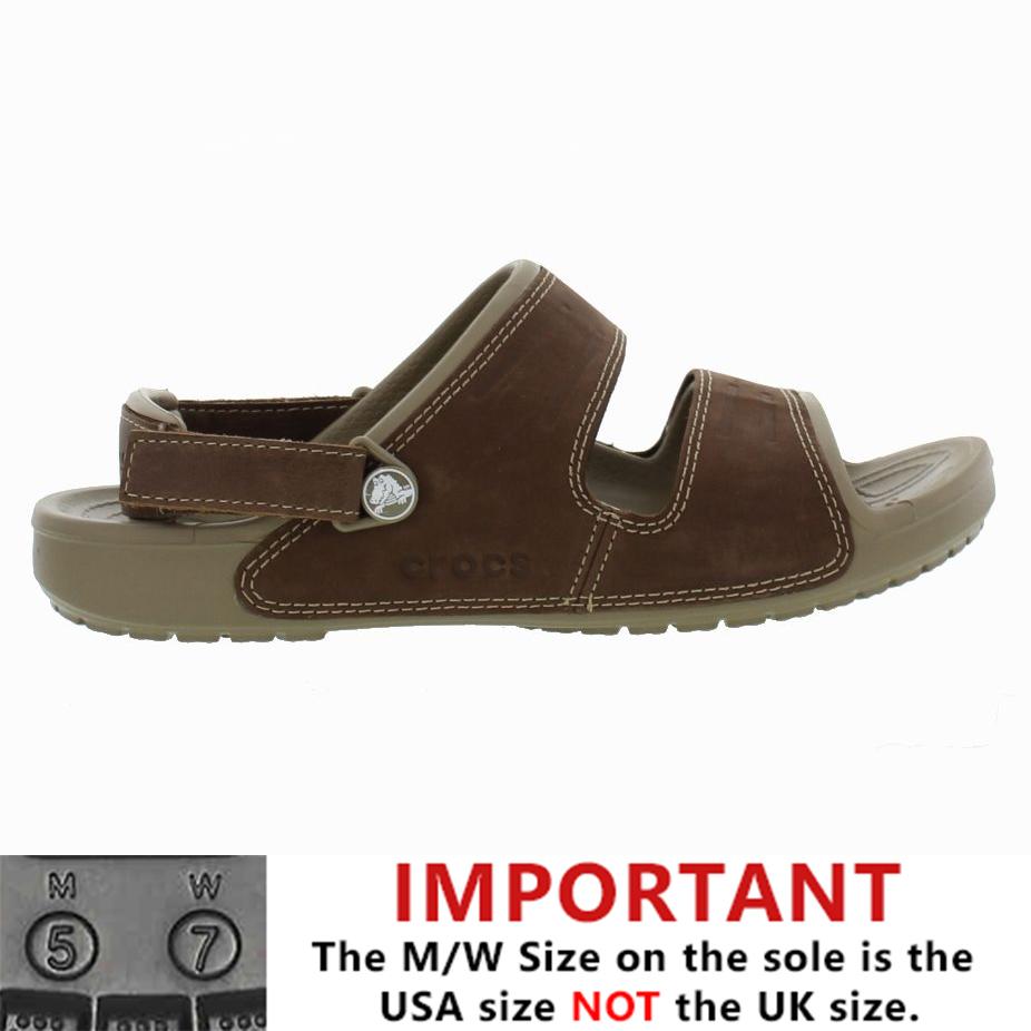 0919ffd02796 Details about crocs mens yukon sandal strap brown sandals shoes size jpg  926x926 Crocs straps