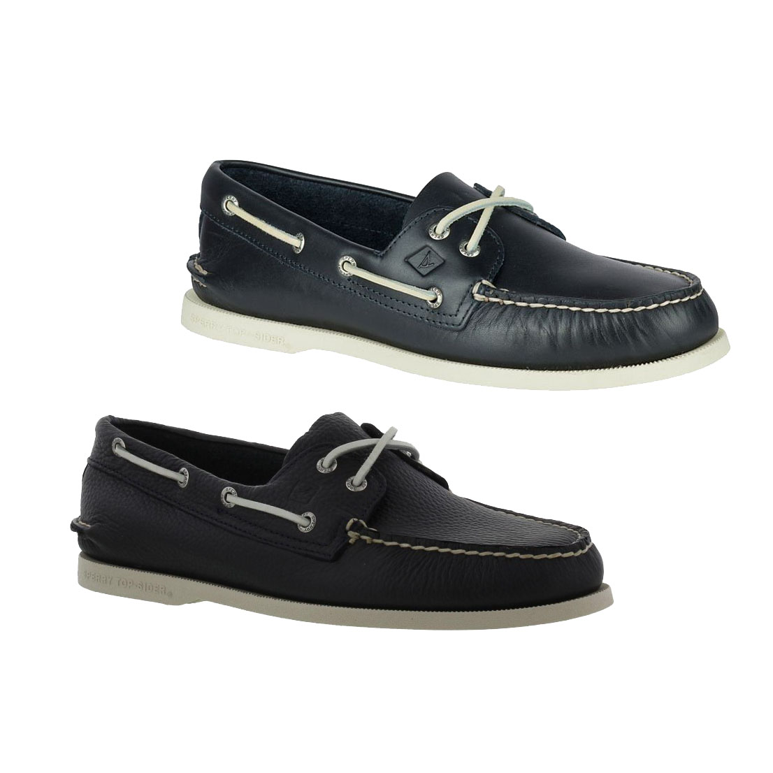 a76e5a3a33424 Details about Sperry Top Sider A/O Mens Classic 2 Eye Blue Leather Deck  Boat Shoe Size UK 8-11
