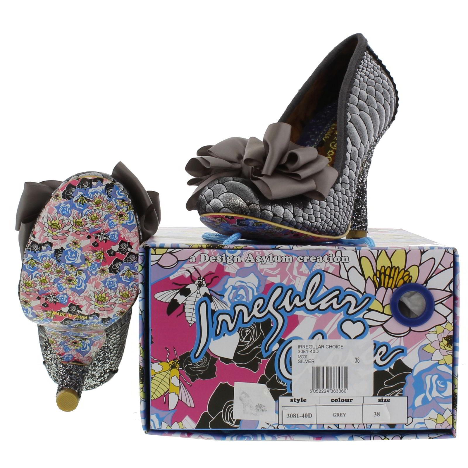 Irregular Choice - Ascot - Womens  sc 1 st  eBay & Irregular Choice Ascot Womens High Heel Stiletto Court Shoes Size ... Aboutintivar.Com