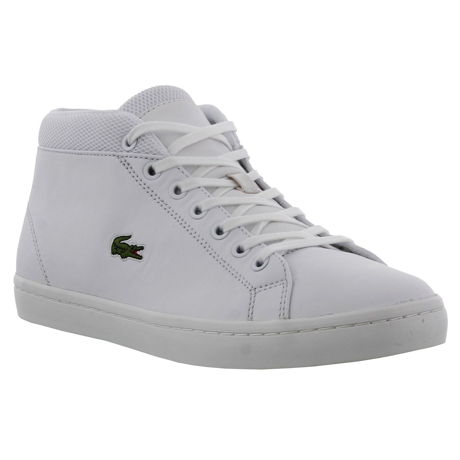 bb5bc2f8c7bbcc Details about Lacoste Mens Straightset Chukka 316 3 SPM White Trainers Size  UK 9-11