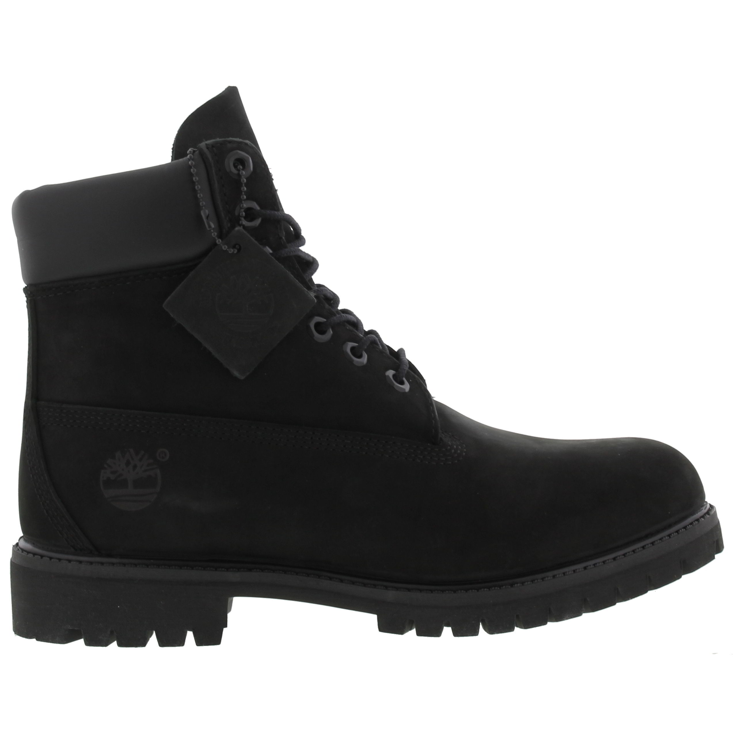 timberland men's 6in. premium waterproof boot black leather