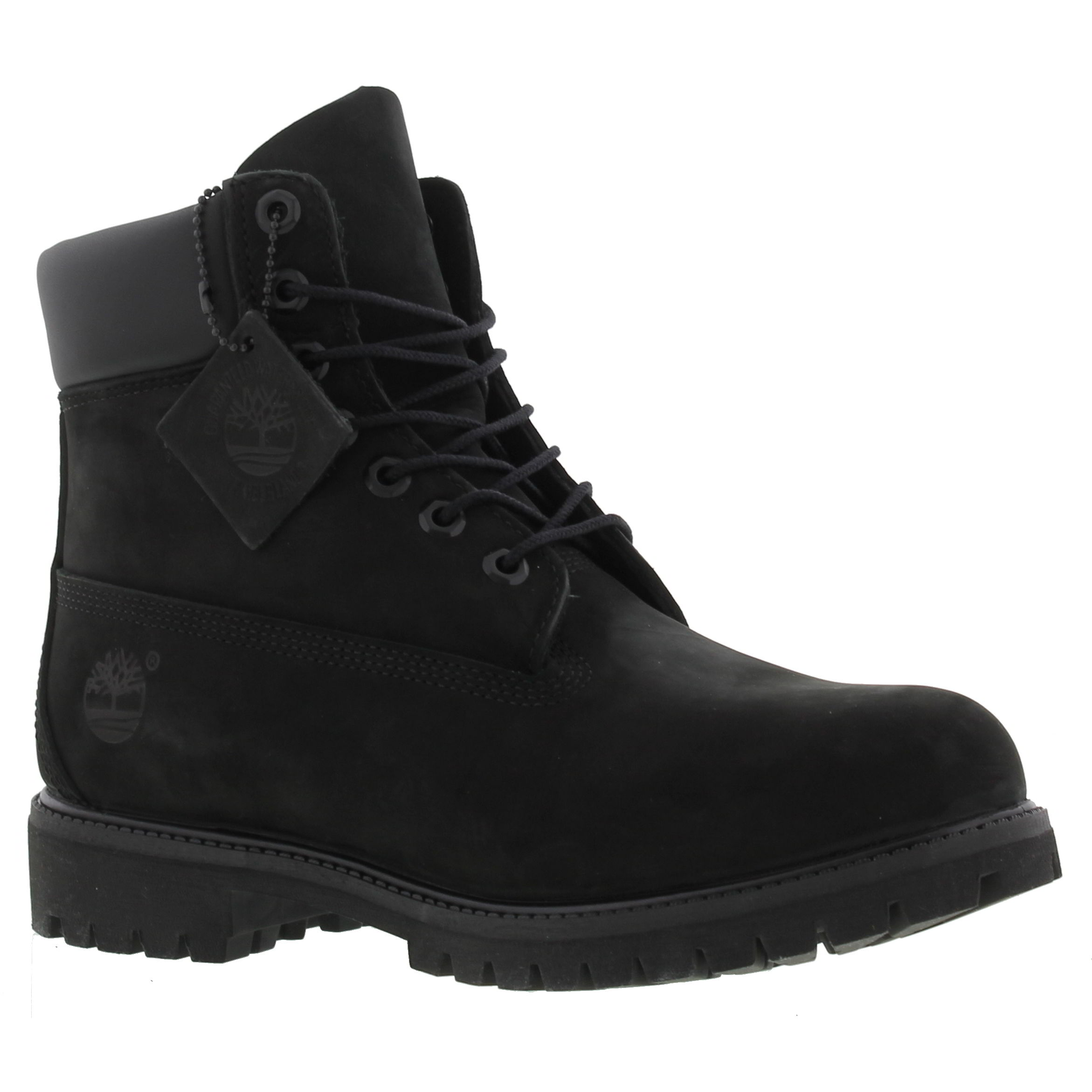 6091a3bc09286 Timberland 6 Inch Classic Premium Mens Wide Black Waterproof Boots ...