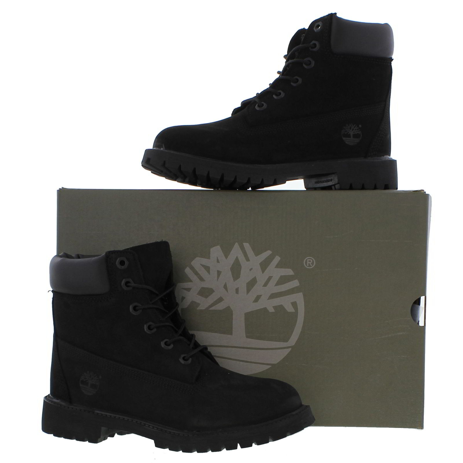 Timberland 6 Inch Premium Womens Ladies Juniors Waterproof Ankle Boots  12907  39ebb612f2