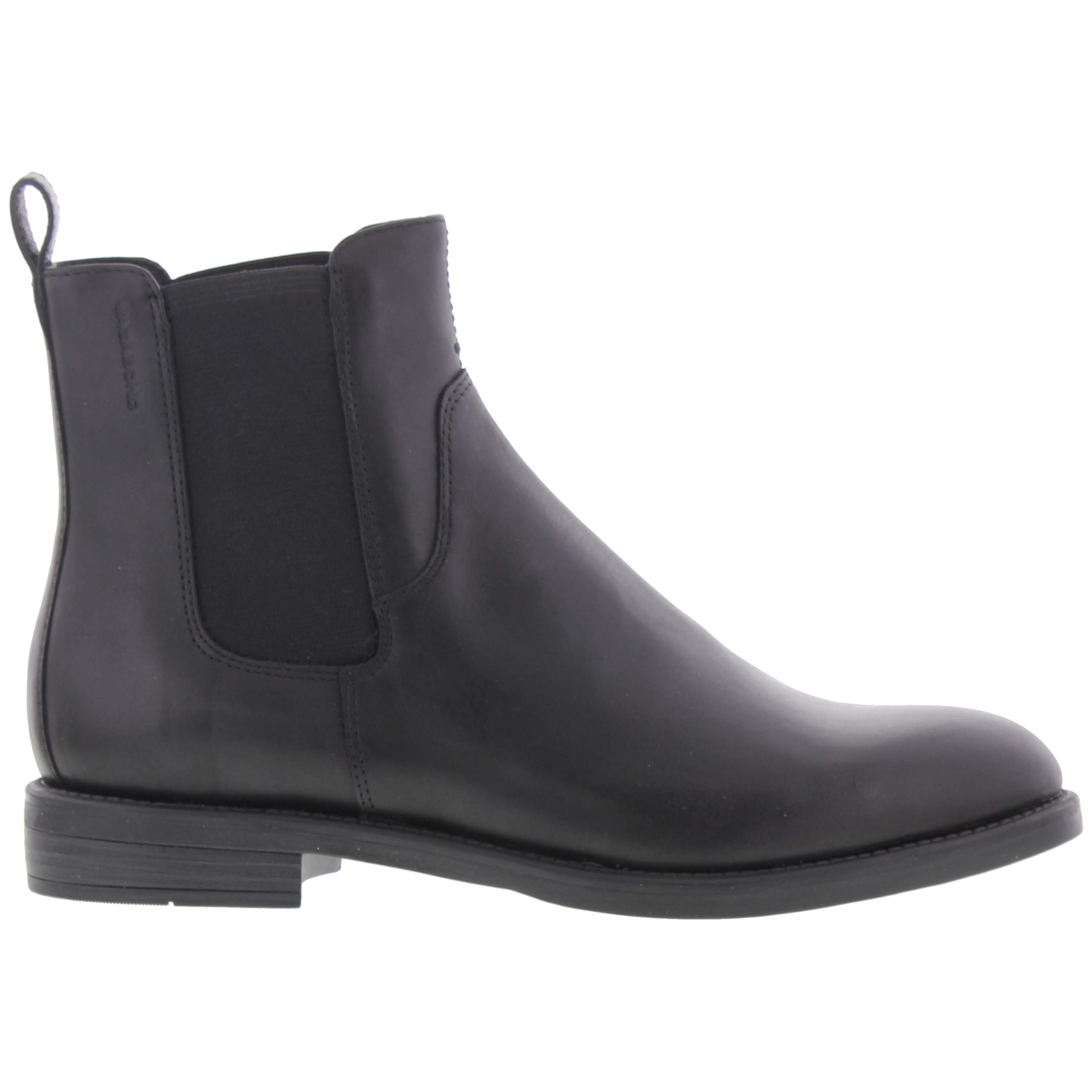 on sale a52a0 c19b0 Details zu Vagabond Amina Womens Ladies Black Brown Leather Chelsea Ankle  Boots Size 3-7