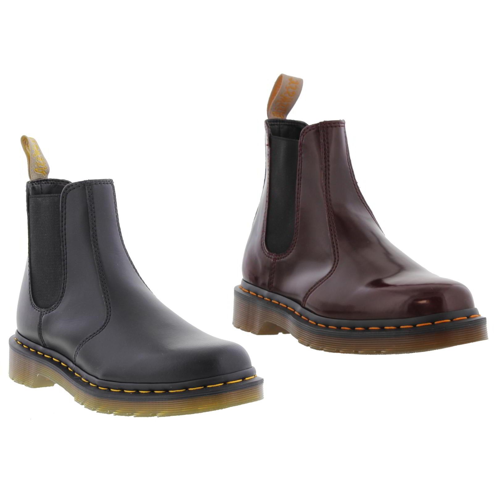 9d735cefe6da Details about Dr Martens 2976 Vegan Mens Black Cambridge Ankle Chelsea Boots  Size UK 13