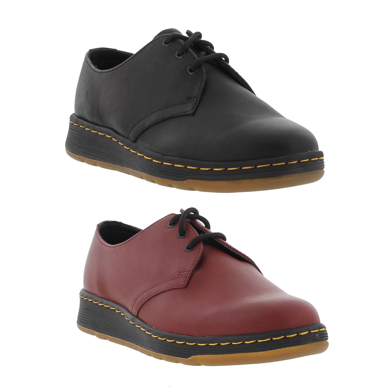 dernière sélection de 2019 plus grand choix de 2019 regarder Details about Dr Martens Cavendish Mens Womens Ladies Lite Red Leather Lace  Up Shoes Size 6