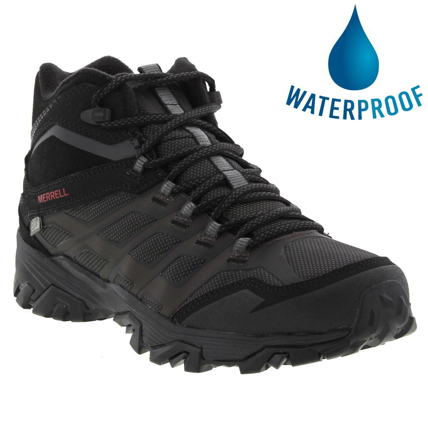 is the merrell moab fst waterproof case