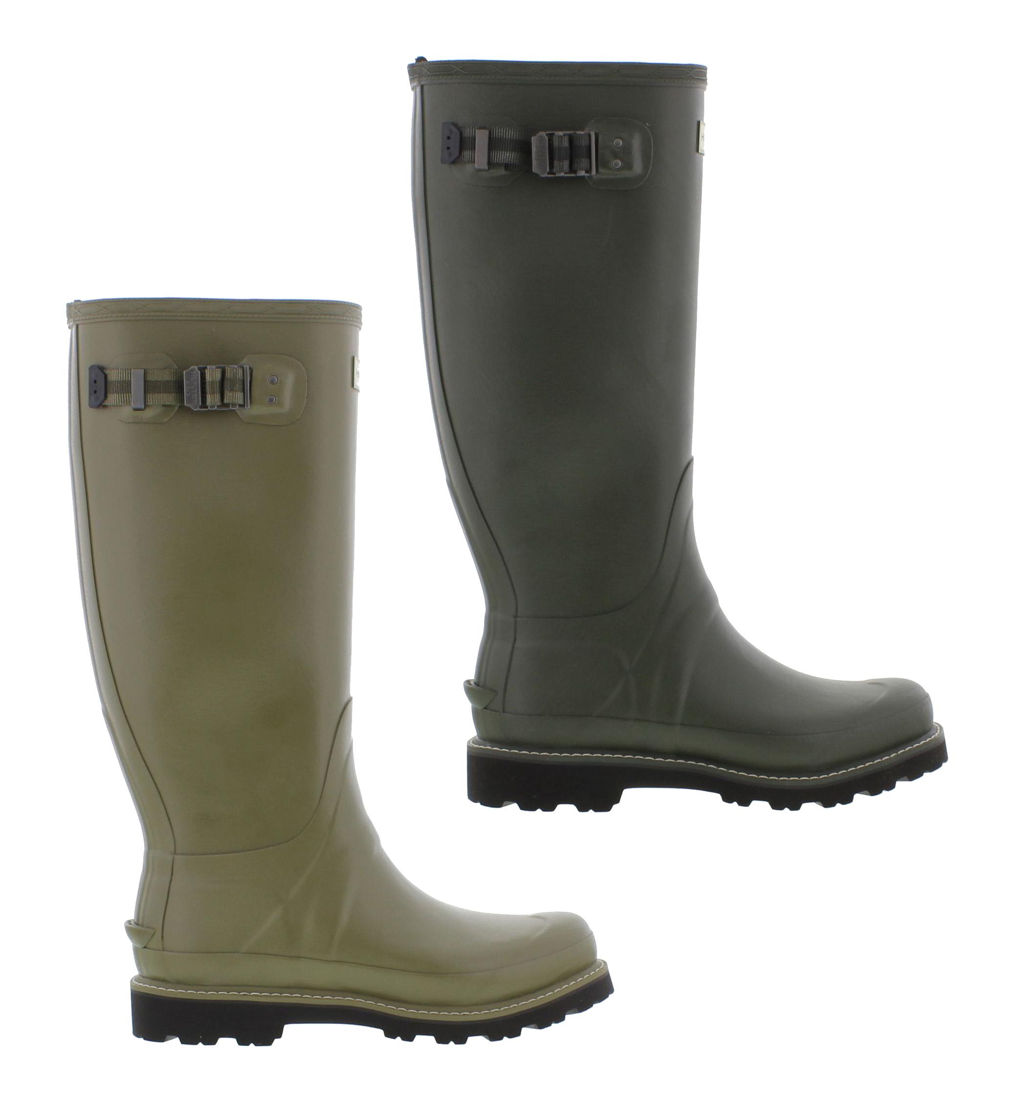 Hunter Original Balmoral II Mens Wellington Boots Green Wellies Size UK 8-11  | eBay