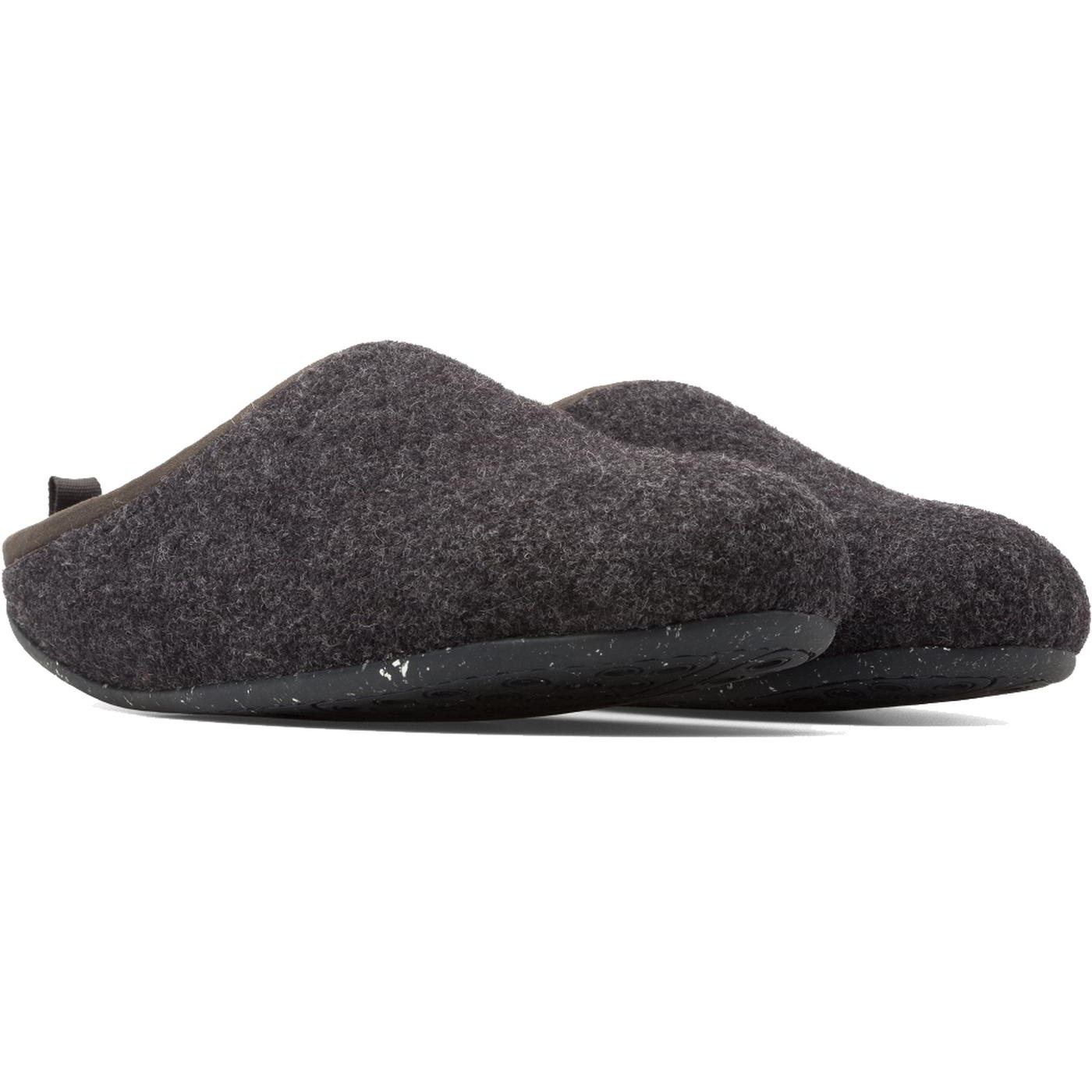 633ad9516d46 Camper Wabi Mens Grey Blue Outdoor Sole Felt Slippers Shoes Size 7 ...