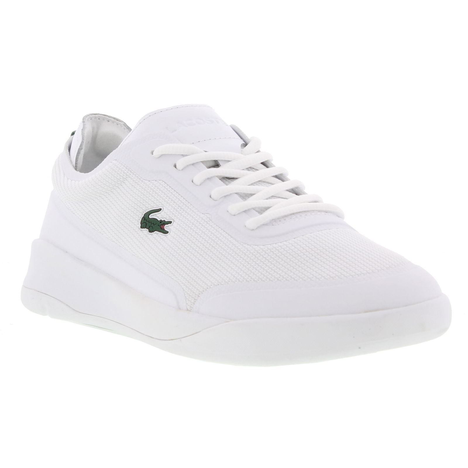 b2738f2b0f0b Details about Lacoste Lt Spirit Elite 117 4 SPM Mens White Trainers Shoes  Size 8-11