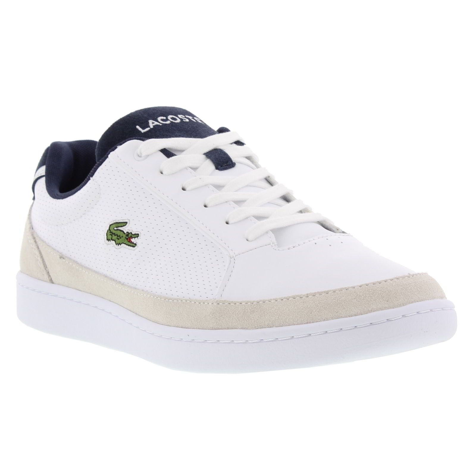 ee2a8bec0446 Details about Lacoste Setplay 117 1 SPM Mens Leather Trainers Size 8-11