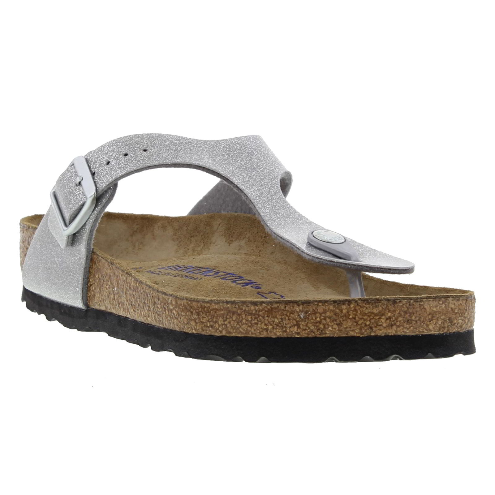 Birkenstock Gizeh Soft Footbed Regular Fit Womens Ladies Sandals ... a17b93492c2