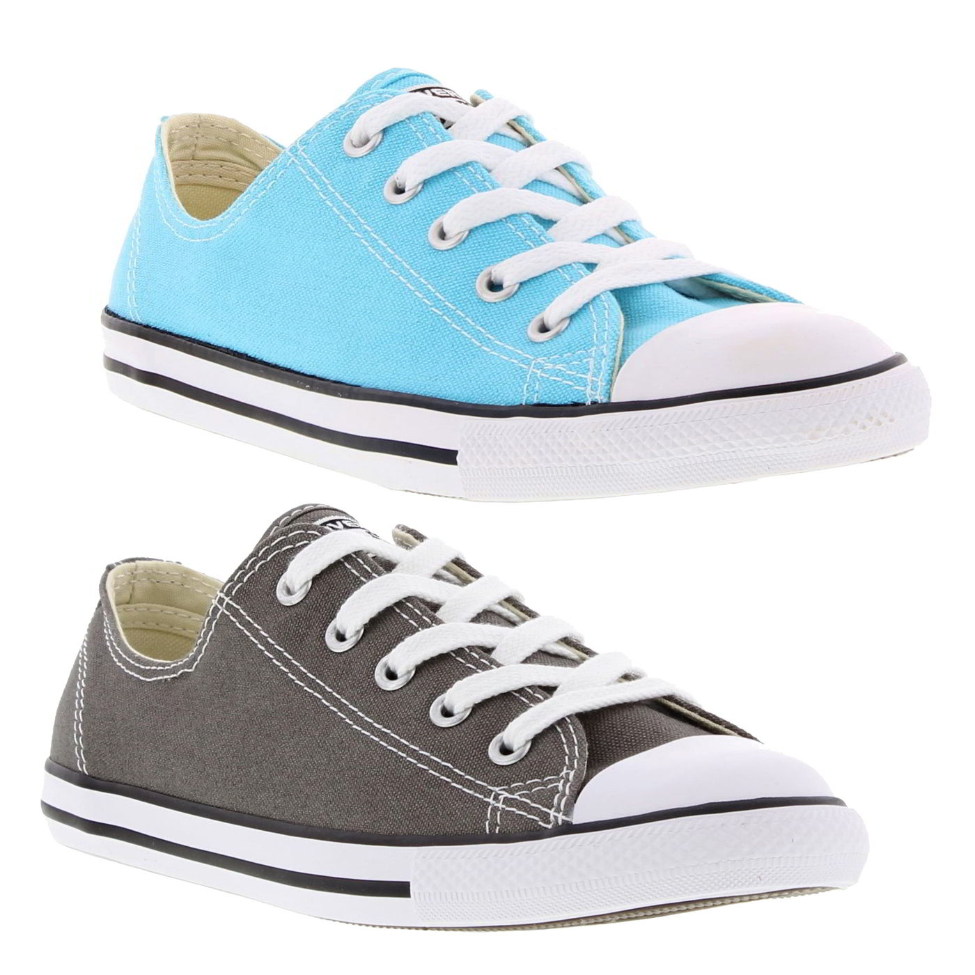 Details about Converse All Star Dainty Oxford Womens Ladies Canvas Shoes Trainers Size 4 8