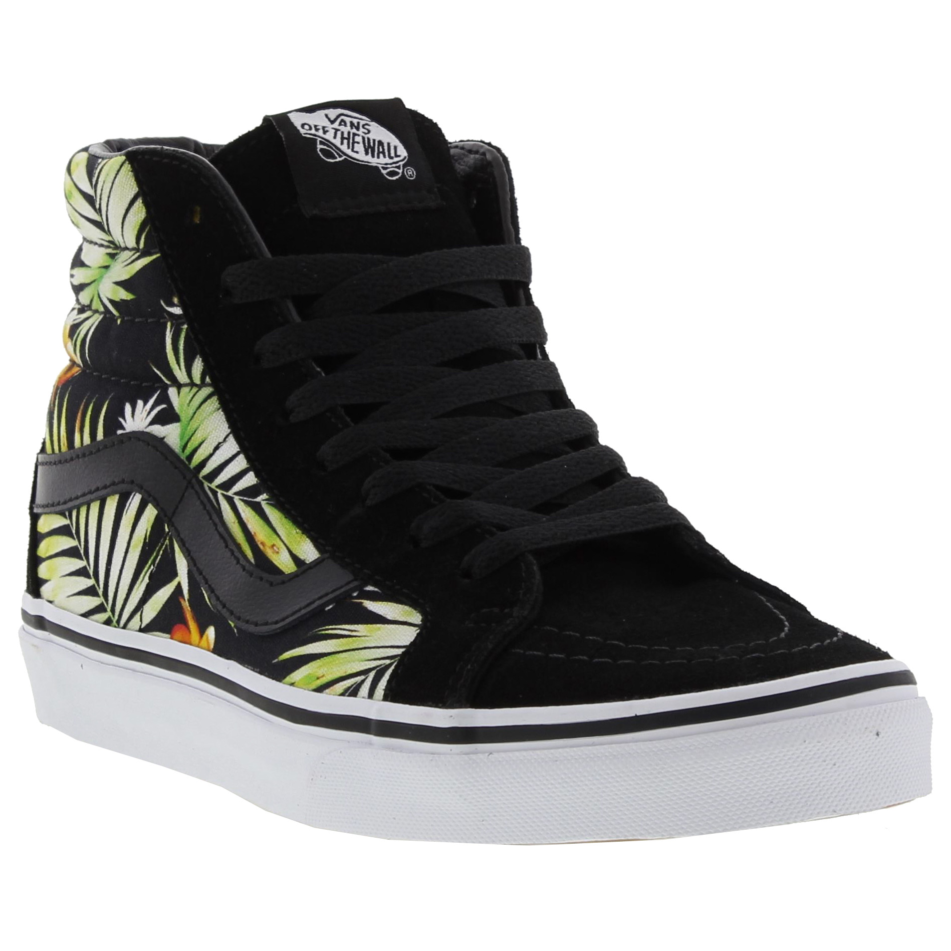 Detalles de Vans UA Sk8 Hi Top Reissue Womens Black High Top Trainers Size  5-7 158b6176c