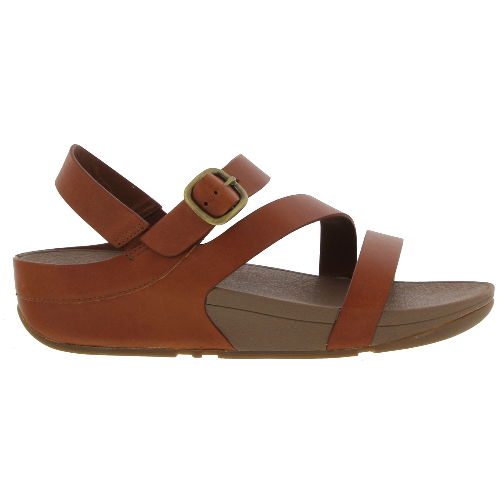 599fbd37cef7e4 Details about FitFlop The Skinny Z-Cross Womens Leather Sandals Size 5-8