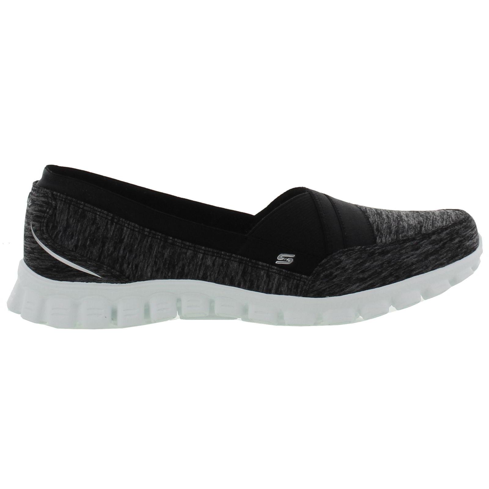 Skechers Women's EZ Flex 2 Right On Sneaker,Black,US 7.5 M