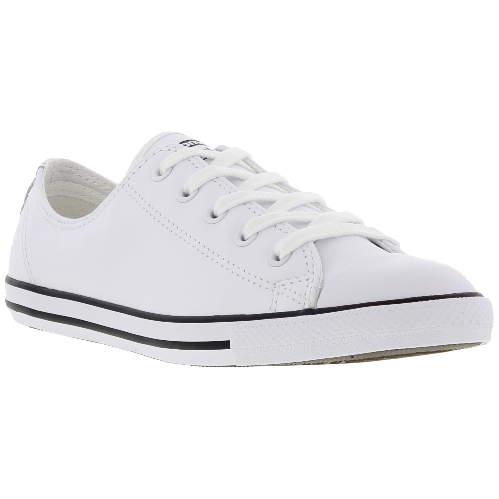 2582b6142298 Detalles de Converse CT All Star Dainty Ox Cuero para Mujeres Zapatillas  Zapatos Talla 4-8- ver título original