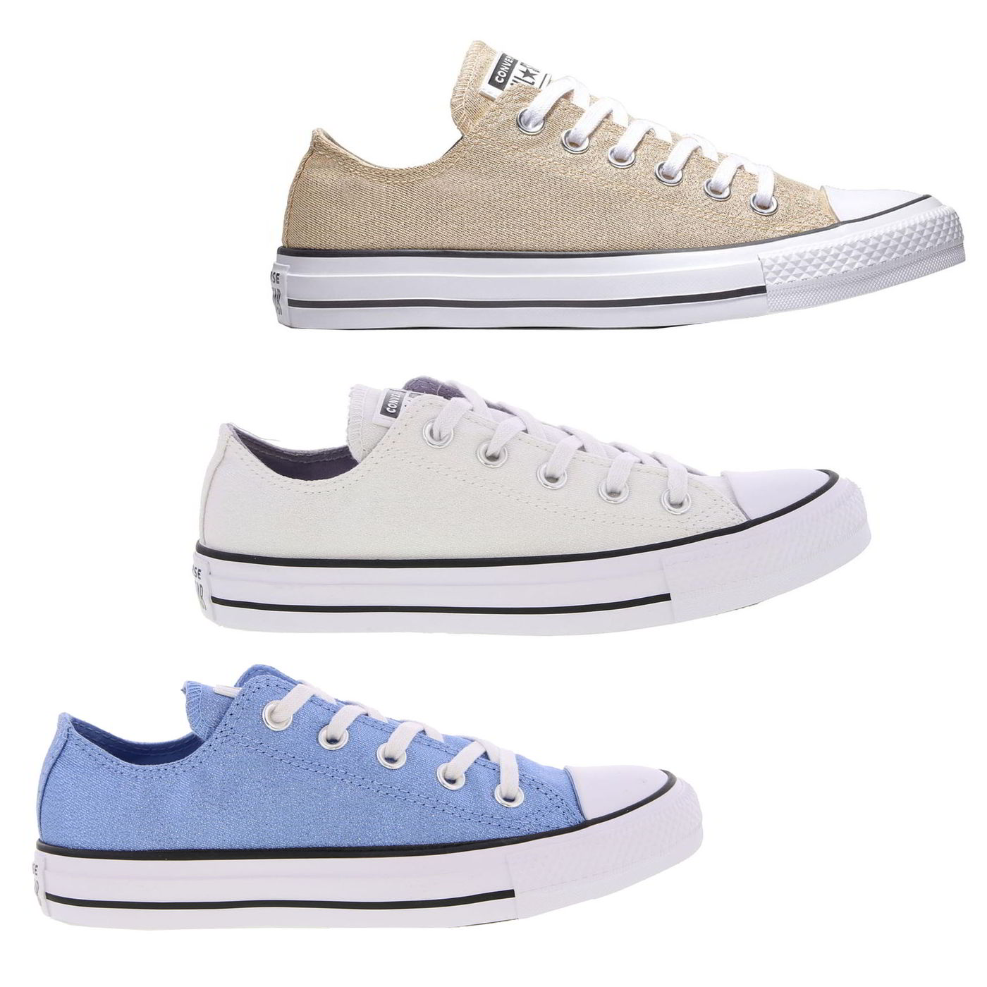 3cbb51bccd33 Details about Converse CT All Star Ox Womens Ladies Oxford Canvas Trainers  Shoes Size 4-8