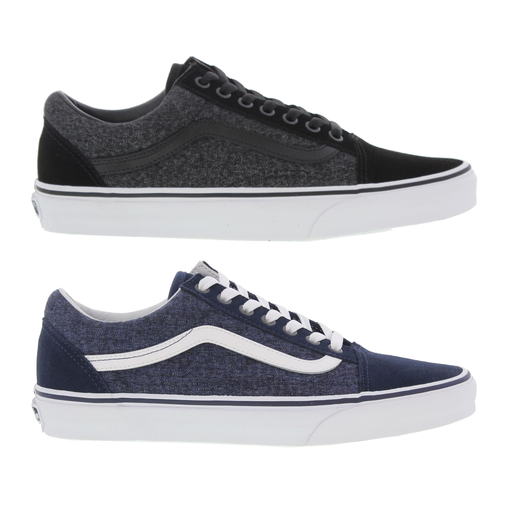 Vans Old Skool Features  Suede uppers  Iconic Stripe logo  Vulcanized  rubber outsole  Padded Collar 57c3806465f