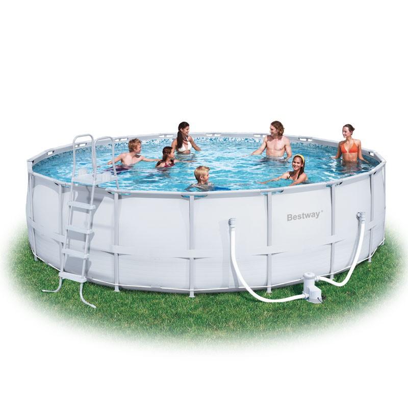 Bestway 18ft Steel Pro Frame Pool Set (26,000L) 6942138919912 | eBay