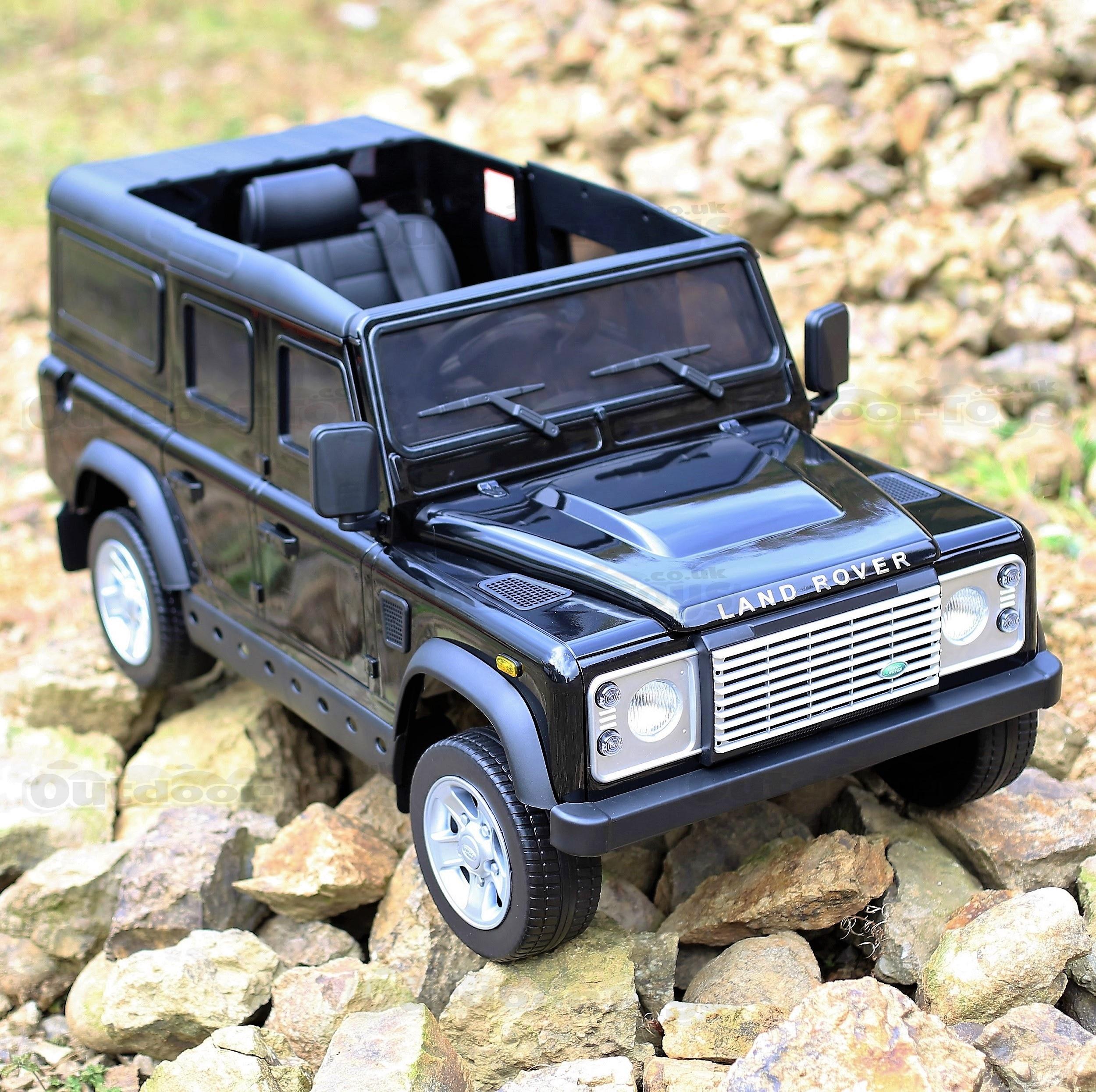 Sentinel Licensed Land Rover Defender 12v Child S Electric Ride On 4 Colours