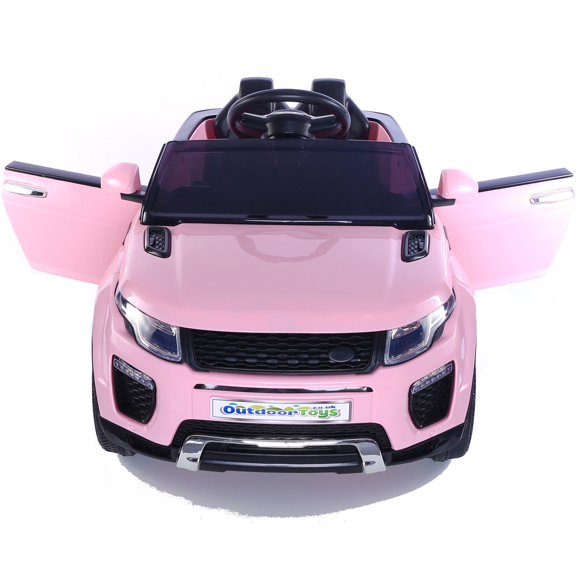 461d299ace0 12V Evo-que Style Child s Ride On Car Jeep - Pink