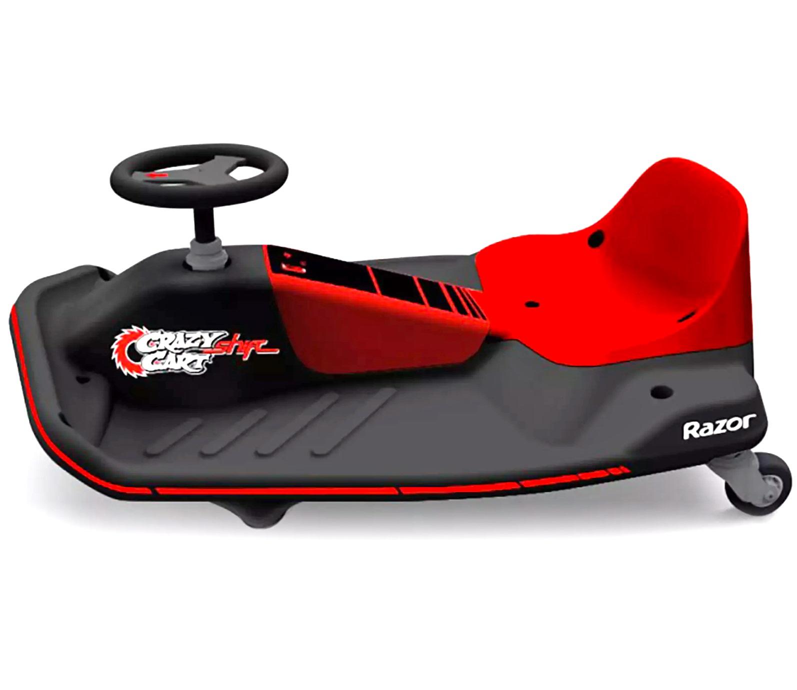 razor 24v crazy cart shift child 39 s ride on toy tricks. Black Bedroom Furniture Sets. Home Design Ideas
