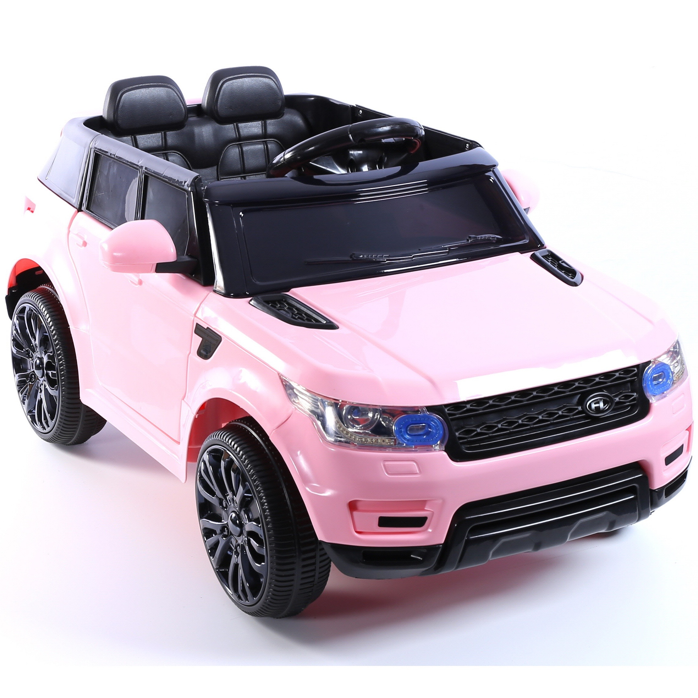 mini hse range rover style electric 12v child s ride on jeep pink 5060225288442 ebay. Black Bedroom Furniture Sets. Home Design Ideas