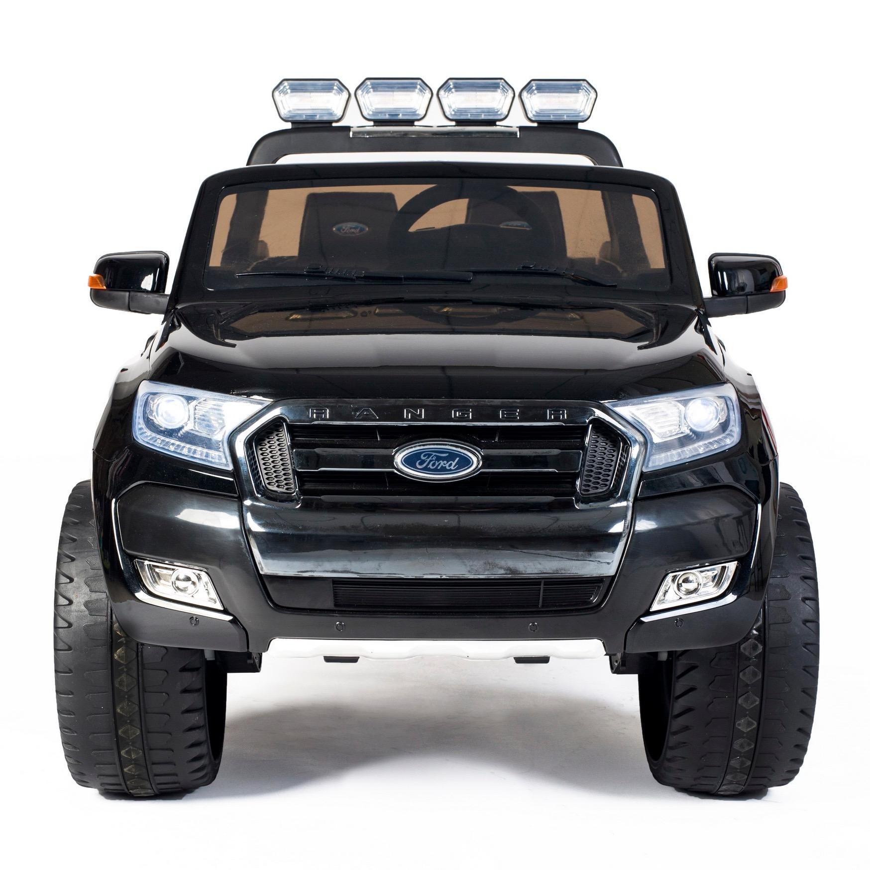 Sentinel ford ranger wildtrak licensed 4wd 24v battery ride on jeep black