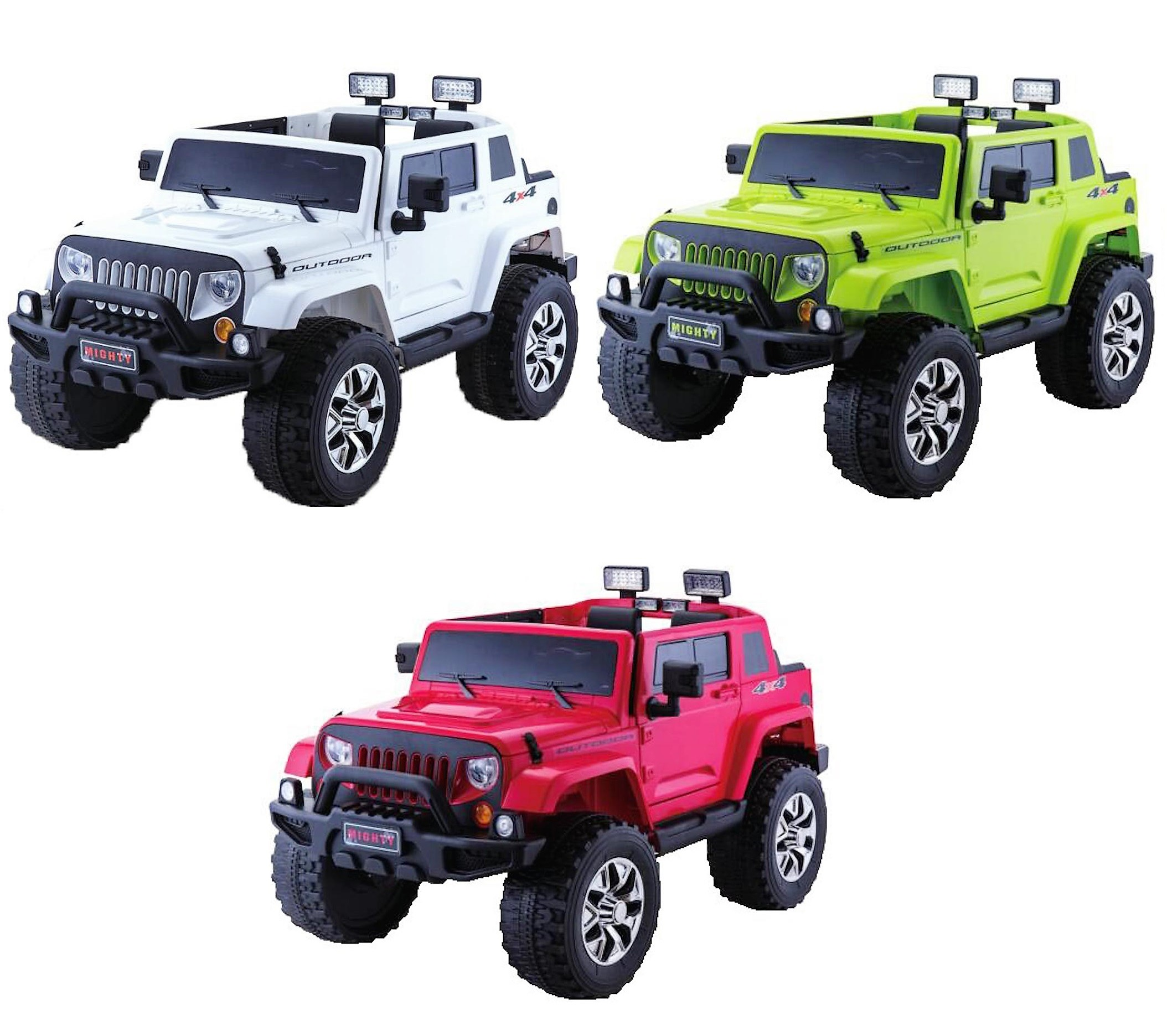 24V 4WD Kid s Jeep Rubicon Style Ride with 2 4G Remote Control