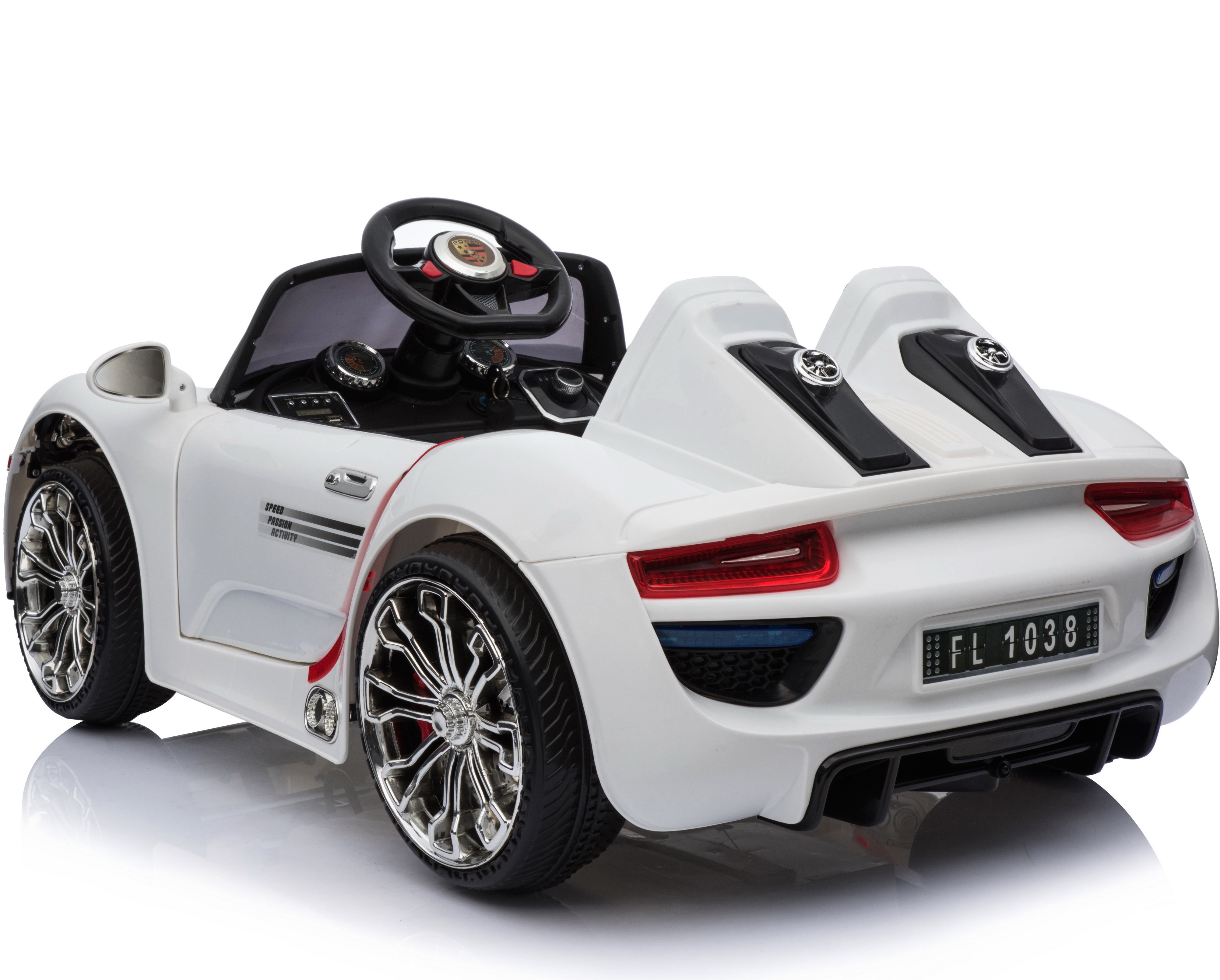 Porsche 918 Style 12v Children S Ride On Battery Operated Car