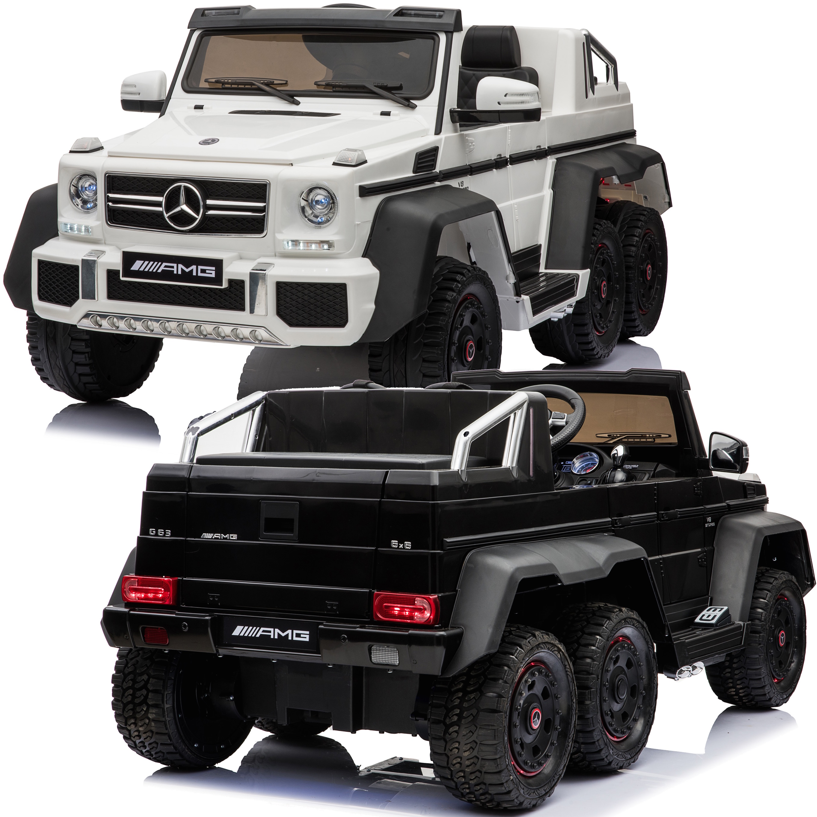 Details about Licensed Mercedes Benz G63 6x6 Children's Electric Ride On  Jeep - 3 Colours