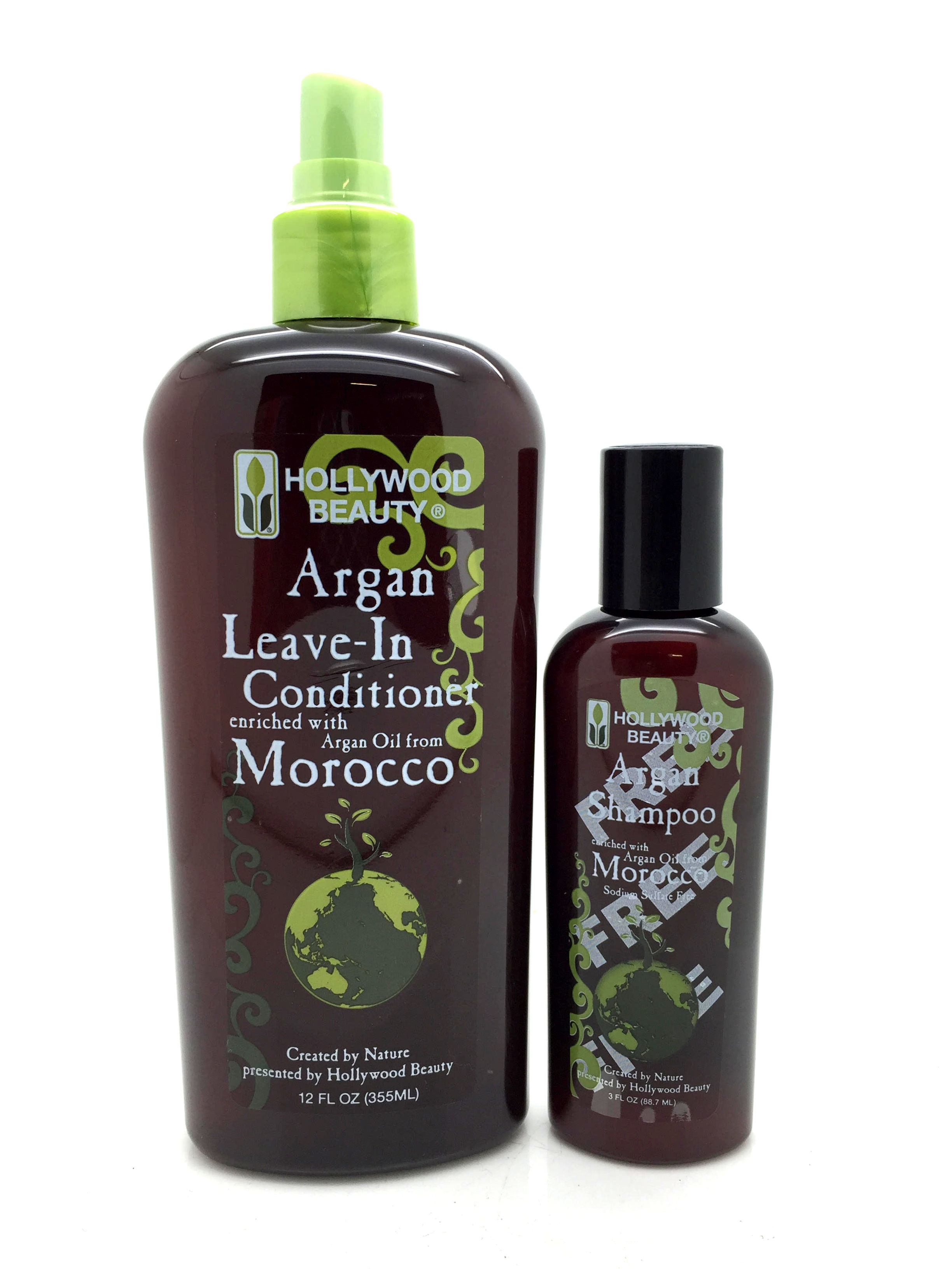 Leave in conditioner with argan oil