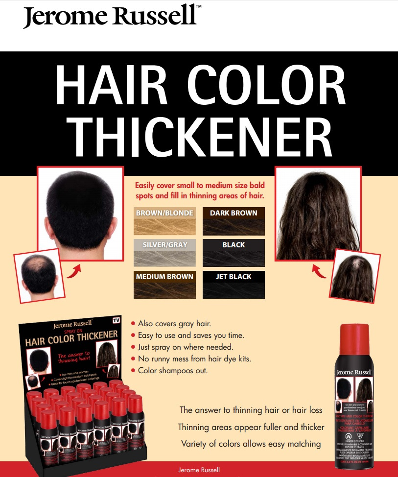 Jerome Russell Hair Color Thickener Best Hair Color 2018