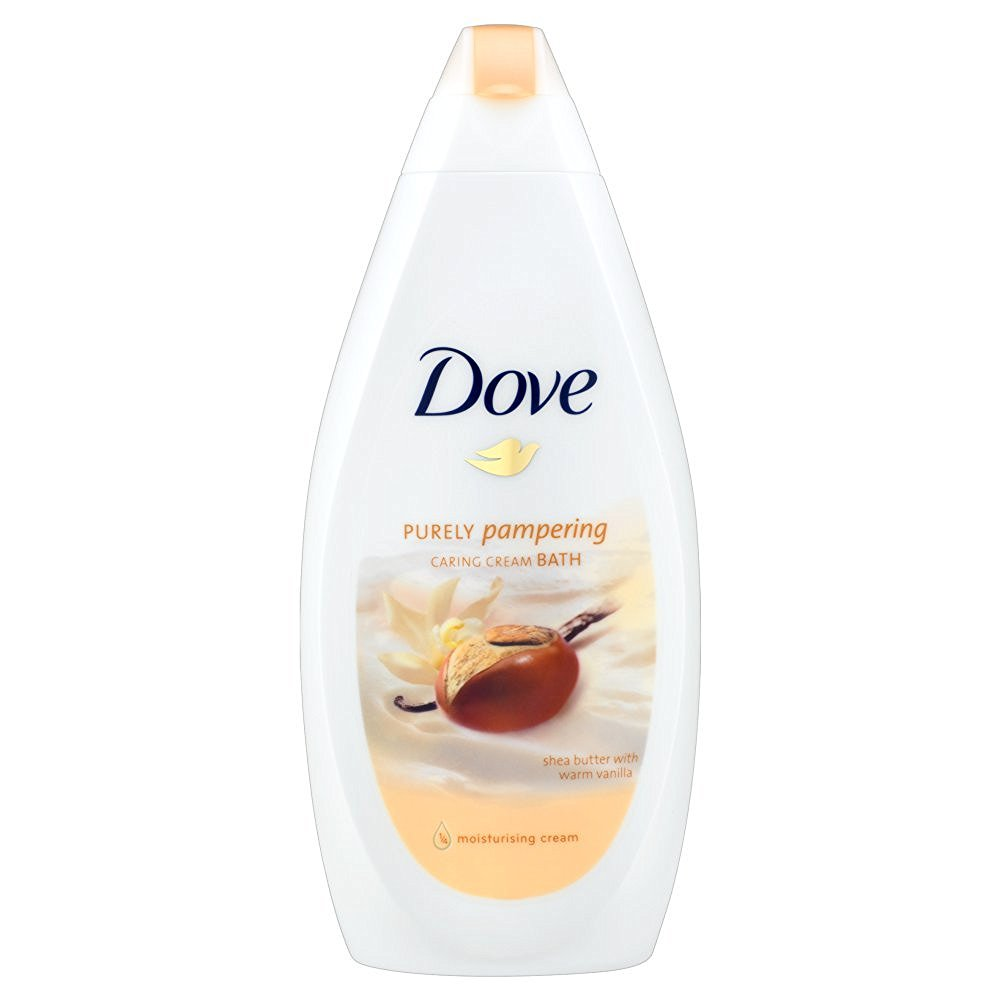 Dove Purely Pampering Shea Butter Caring Cream Bath, 500ml
