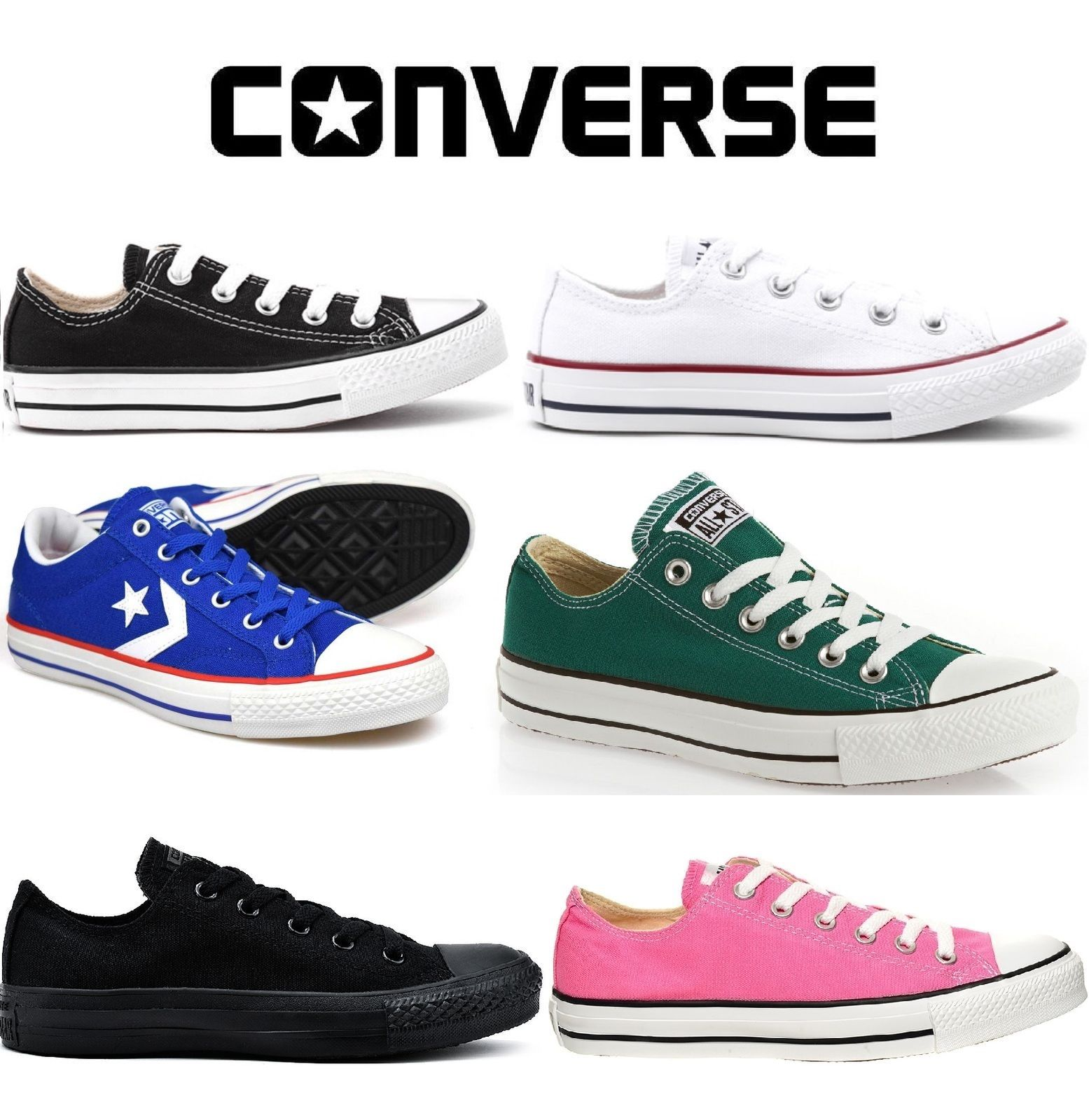 Converse Classic Classic Converse Chuck Taylor Low Trainer Sneaker All Star OX NEW talla Zapatos 20b462